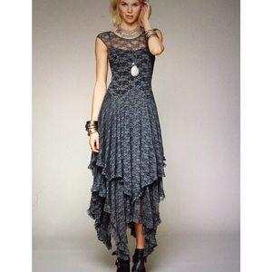 NWOT - BEAUTIFUL GRAY LACE DRESS